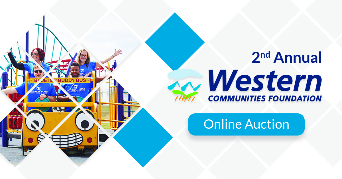 The second annual Western Communities Foundation online auction is now live