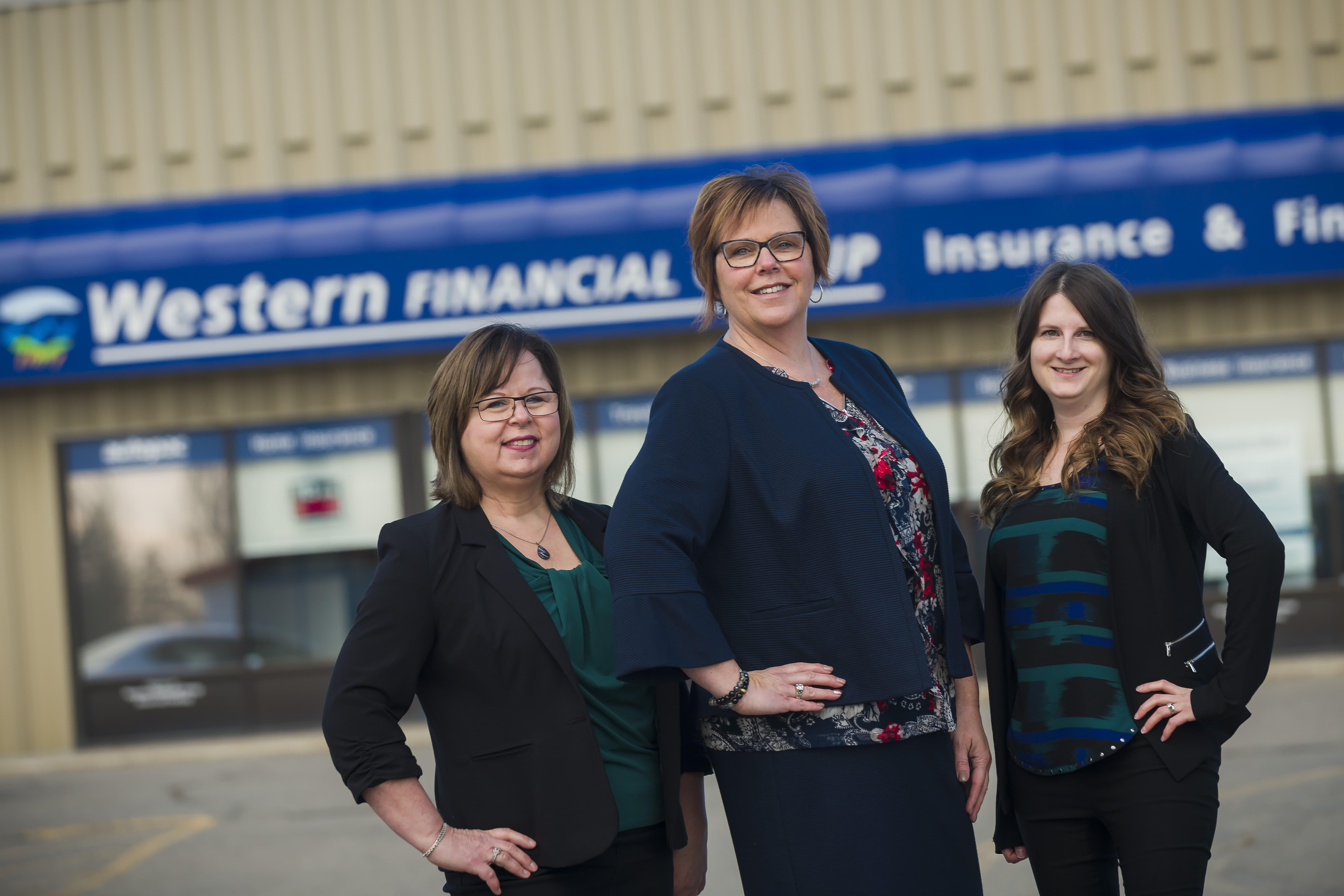 The Western Financial Group Brandon team is celebrating their 100th year in business
