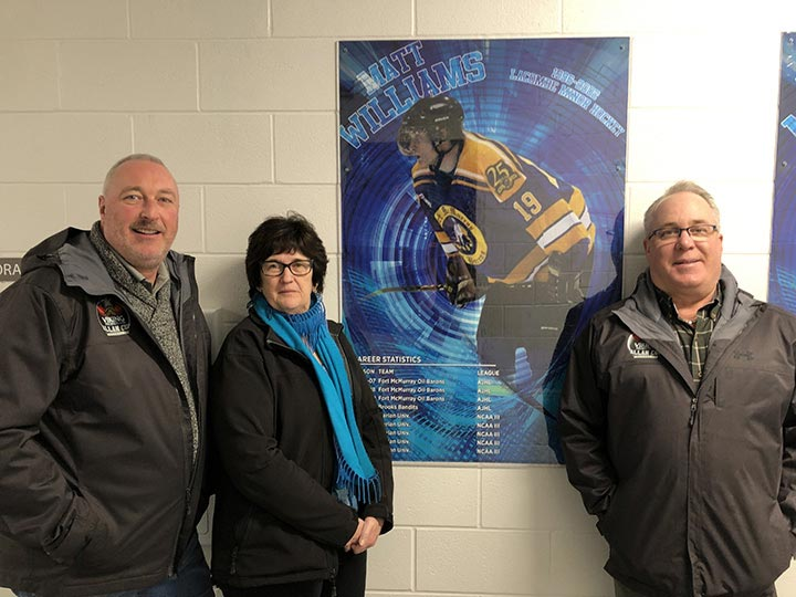 The Lacombe Western Financial Group team is ready to support the 2019 Allan Cup