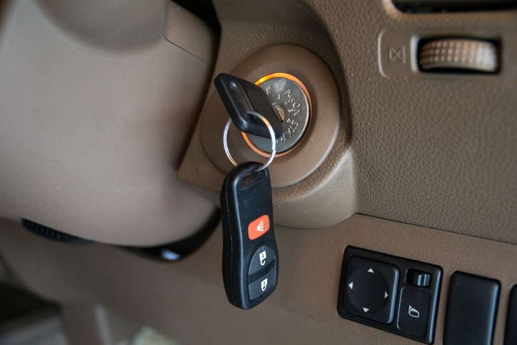 Does insurance cover a stolen car if the keys were in It?