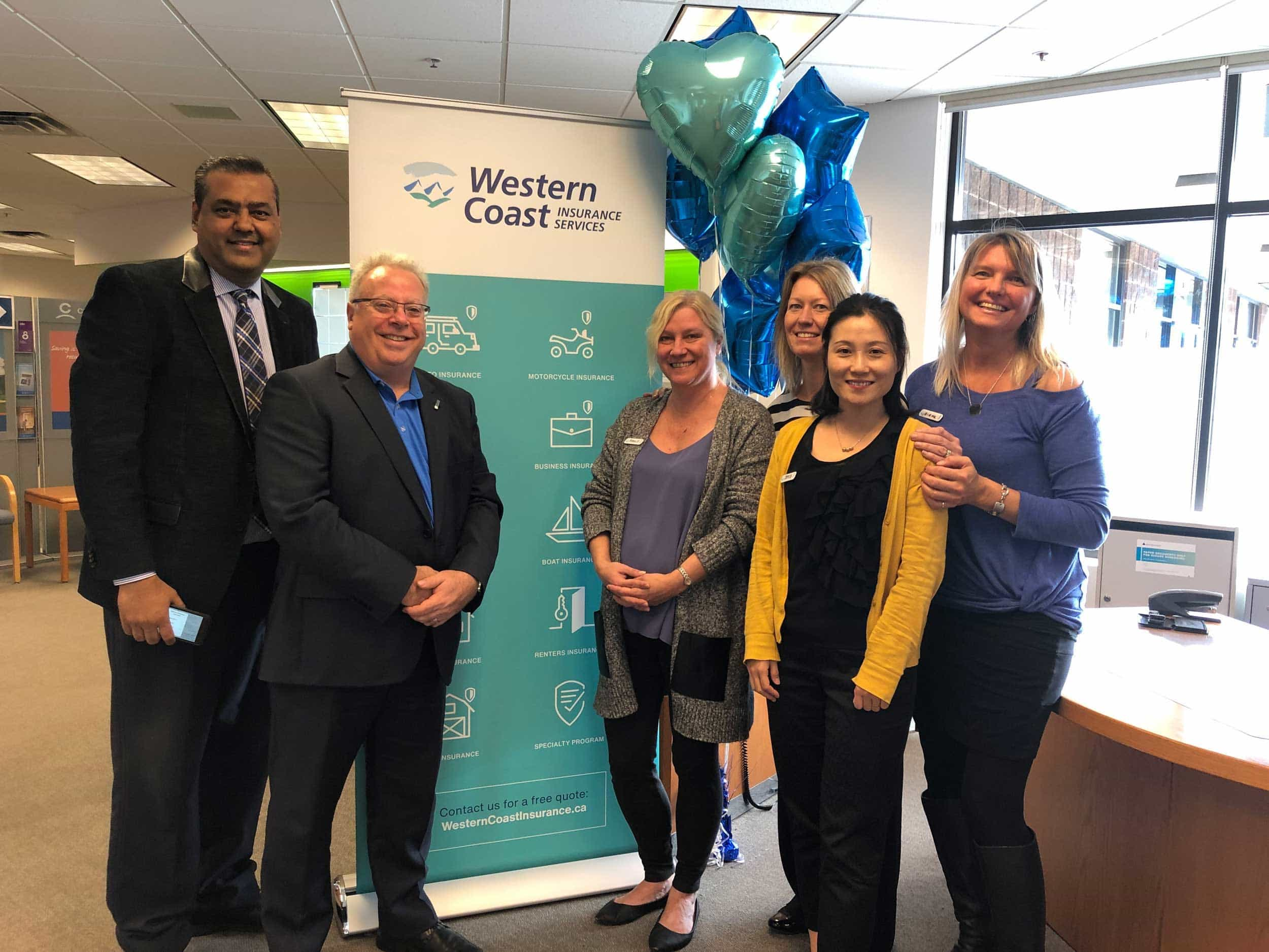 Kenny Nicholls, Western Financial Group's CEO and President, visits our Western Coast Semiahmoo location on brand reveal day