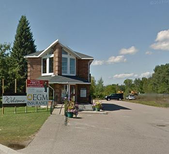 The EGM Insurance Group location in Petawawa, Ontario